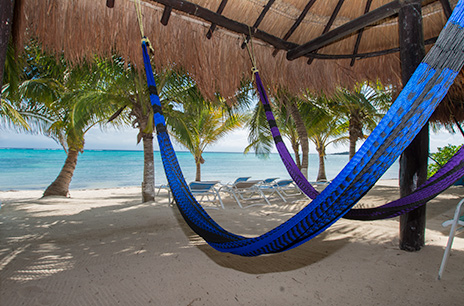 Hammocks Soliman Bay at Villa Marcaribe vacation rental villa
