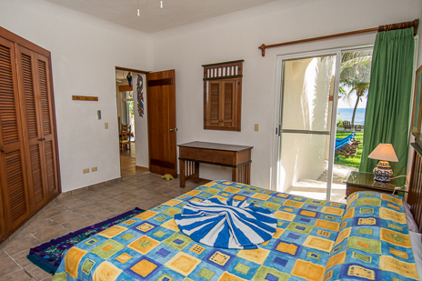 Bedroom #3 at Villa Margaraita vacation rental villa south of Akumal on the Riviera Maya