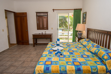 Bedroom #4 at Villa Margaraita vacation rental villa south of Akumal on the Riviera Maya