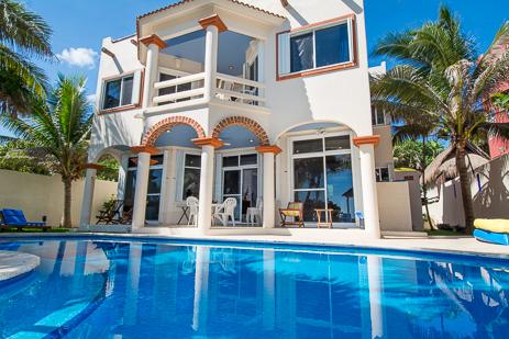Villa Margaraita vacation rental villa on Jade Beach south of Akumal on the Riviera Maya