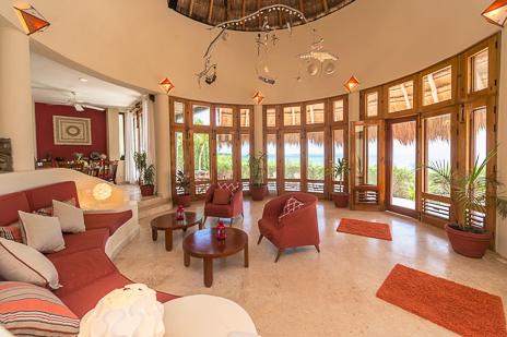 Villa Mariposa  on Tankah Bay on the Riviera Maya
