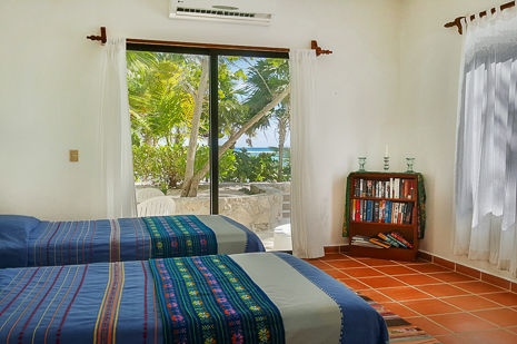 Villa mayamor vacation rental villa located on south for Sliding glass doors onto deck