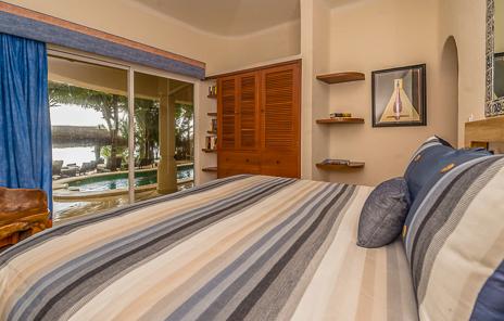 Fourth bedroom of Villa Moonstar luxury villa on Soliman Bay, Riviera Maya, Mexico