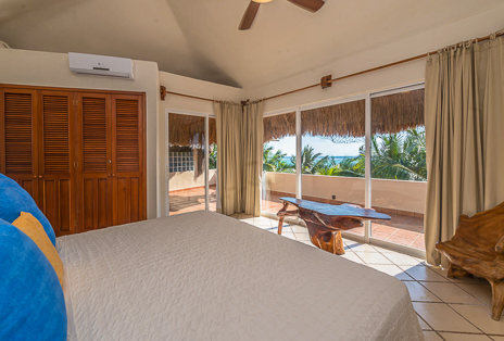 Third bedroom of Villa Moonstar rental villa  on Riviera Maya