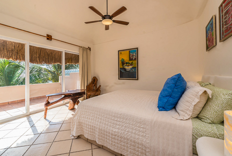 Third bedroom of Villa Moonstar rental villa  on Riviera Maya