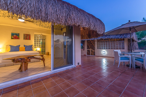 Fourth bedroom of Villa Moonstar luxury villa on Soliman Bay, Riviera Maya, Mexico