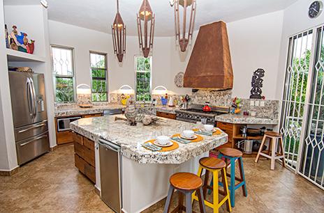 Casa Moto kitchen