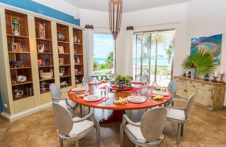Casa Moto dining room
