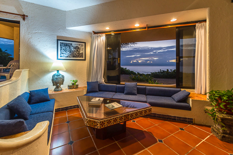 Villa Nicte Ha living area