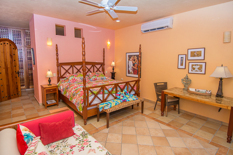 Villa Orquidea vacation rental villa in Tankah is this bed, perfect for tanning or stargazing
