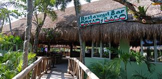 Oscar and Lalo's restaurant Tankah, Mexico