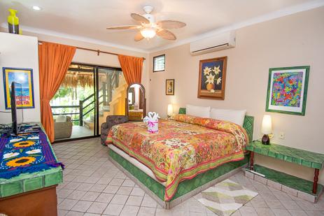 Bedroom #2 at Casa Palmeras Soliman vacation rental home