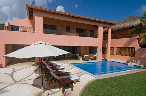 Villa Palmilla luxury vacation rental villa near Akumal Mexico
