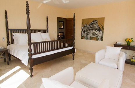 Villa palmilla bedroom, akumal vacation rental villa