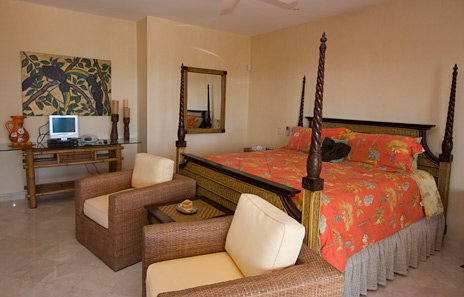 villa palmilla bedroom on second floor jade beach vacational rental villa