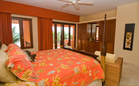 second bedroom of villa palmilla vacation rental villa, akumal