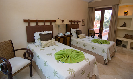 villa palmilla bedroom three, akumal vacation rental villa