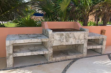 barbecue grill at villa palmilla luxury vacation rental villa