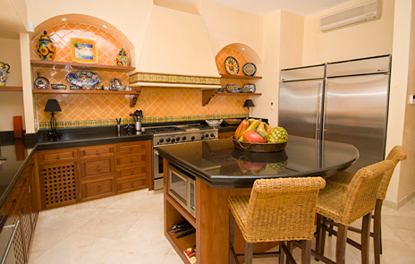 kitchen of villa palmilla vacation rental property near akumal