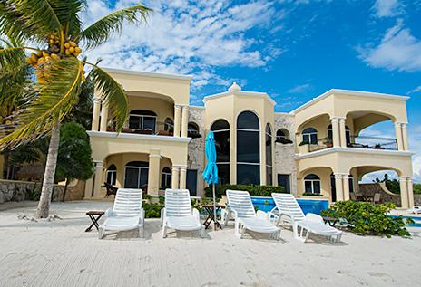 Villa Paloma luxury vacation rental villa near Akumal on Riviera Maya Mexico