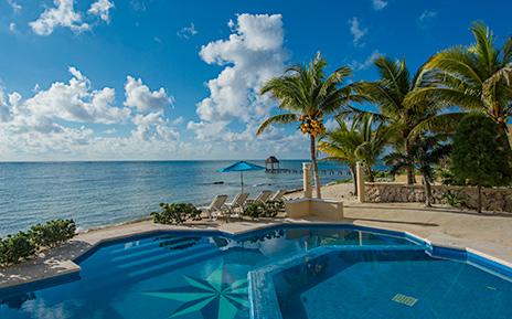 Villa Paloma luxury vacation rental villa Tankah