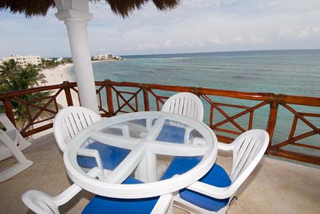 Playa Caribe akumal vacation rental condo on riviera maya mexico