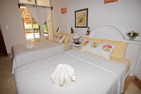 Bedroom Playa Caribe 3 Akumal Mexico
