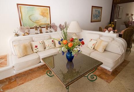 Playa Caribe 3 living room