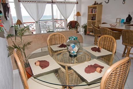 Playa Caribe condo 4 dining