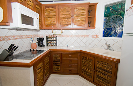 Playa Caribe 4 kitchen