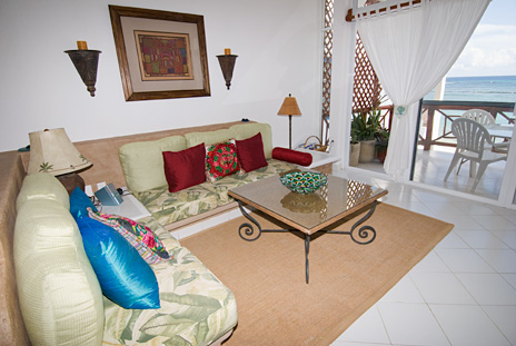 Playa caribe 4 living room