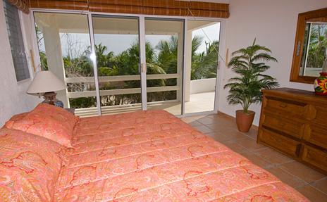 Bedroom #3 at Playa del Caribe vacation rental property on South Akumal Bay