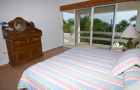 Bedroom #4 at Playa del Caribe vacation rental villa on South Akumal Bay
