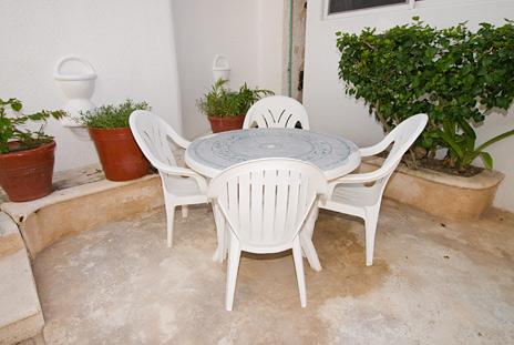 Another patio area  at Playa Caribe Akumal Vacation Rental Condos