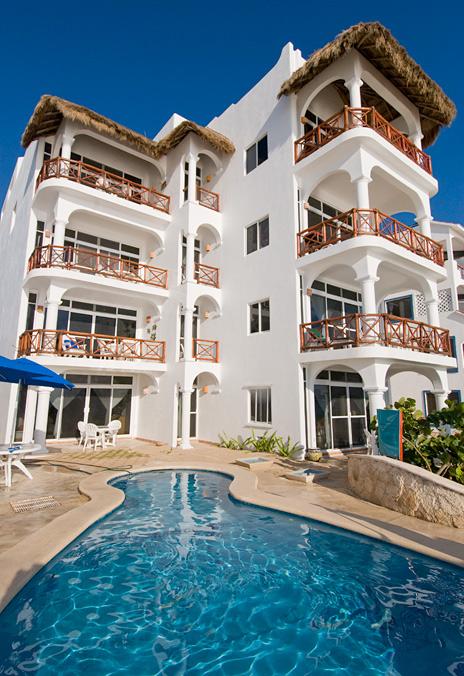 Playa Caribe Akumal Vacation Rental Condos on Half Moon Bay