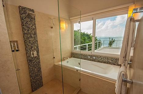 Bathroom Villa Pelagia vacation rental villa, riviera maya, mexico