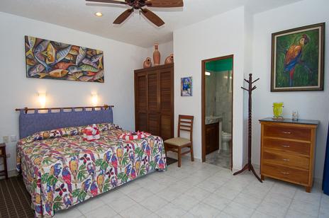 Bedroom 2 Villa Playa Azul, Tankah vacation rental villa