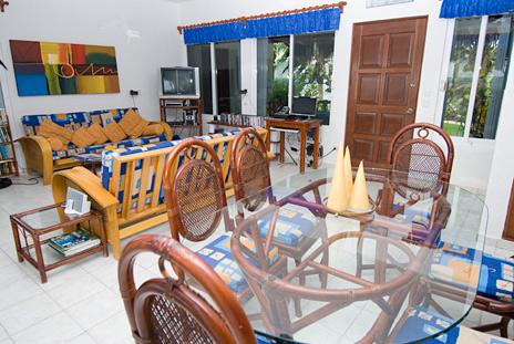Dining room  Playa Azul, Tankah vacation rental villa