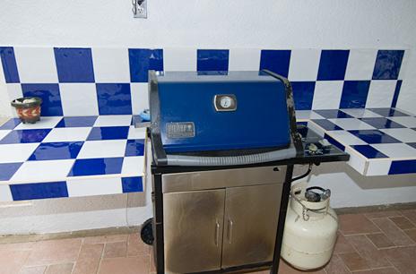 Grill at  Playa Azul, Tankah vacation rental villa