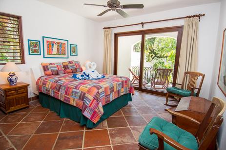 Bedroom #4  at Los Primos South Akumal vacation rental beach home