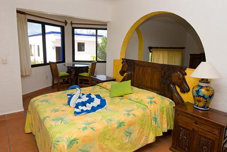 Bedroom #4 at Casa Salvaje Akumal Aventuras vacation rental villa