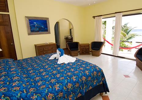 Bedroom #2 at Casa Salvaje Akumal Aventuras vacation rental villa