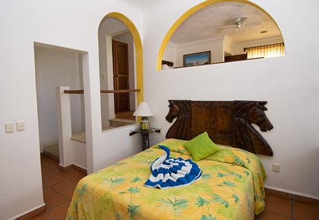 Another look at bedroom #4 at Casa Salvaje Akumal Aventuras vacation rental villa