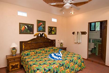 Bedroom #6 at Casa Salvaje Akumal Aventuras vacation rental villa