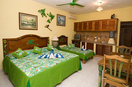 Bedroom #5 at Casa Salvaje Akumal Aventuras vacation rental villa