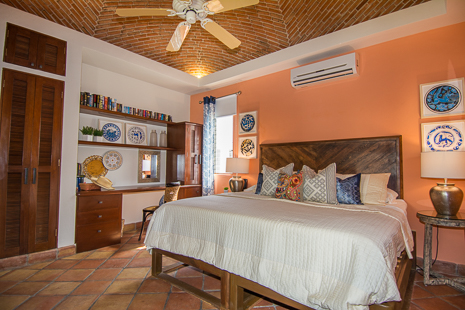 Bedroom #4  at Casa San Francisco vacation rental villa in South Akumal