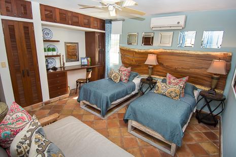 Bedroom #1 at Casa San Francisco vacation rental villa in South Akumal
