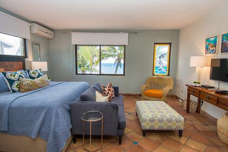 Bedroom #3 at Casa San Francisco vacation rental villa in South Akumal