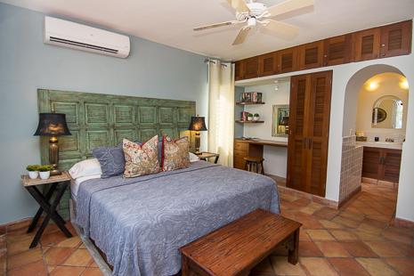 Bedroom #2 at Casa San Francisco vacation rental villa in South Akumal