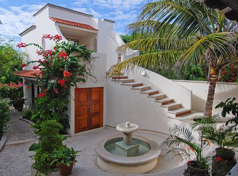 Guesthouse at Casa San Francisco vacation rental villa in South Akumal